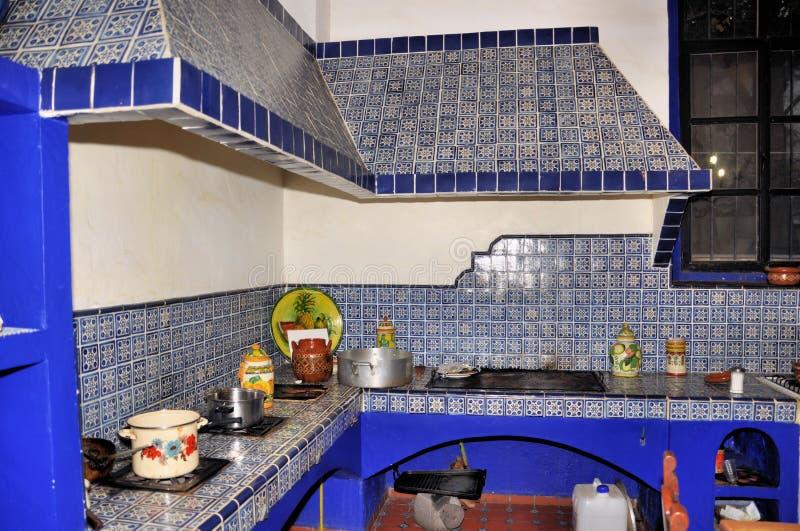Hacienda kitchen royalty free stock images