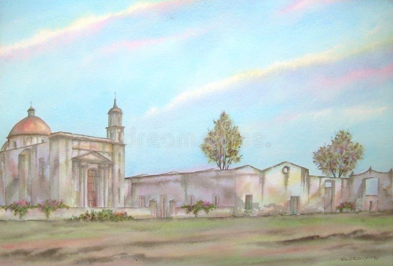 Hacienda mexicana de Raboso imágenes de archivo libres de regalías
