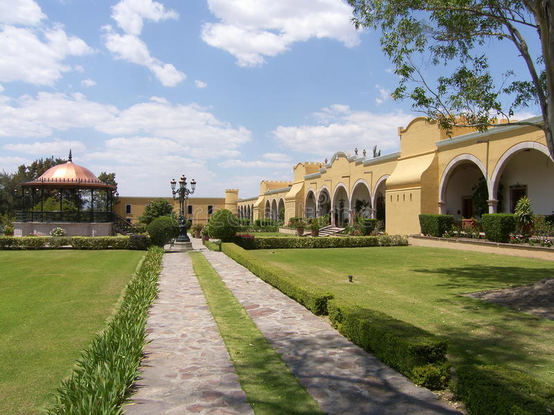 Download Hacienda In Mexico Royalty Free Stock Images - Image: 9762779