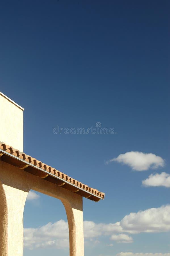 Hacienda View (Portrait) royalty free stock image