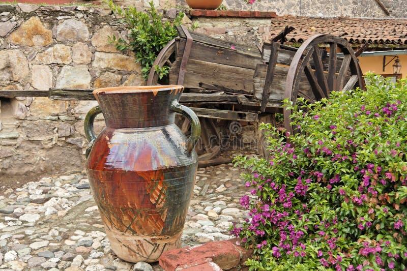 hacjenda Guanajuato ogrodowe obraz stock