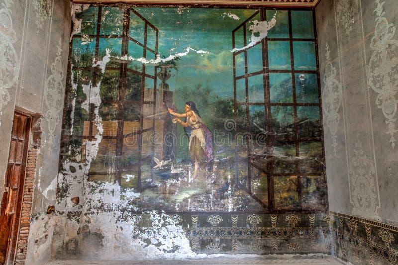 Hacjendy Jaral De Berrios w Guanajuato Meksyk fotografia stock
