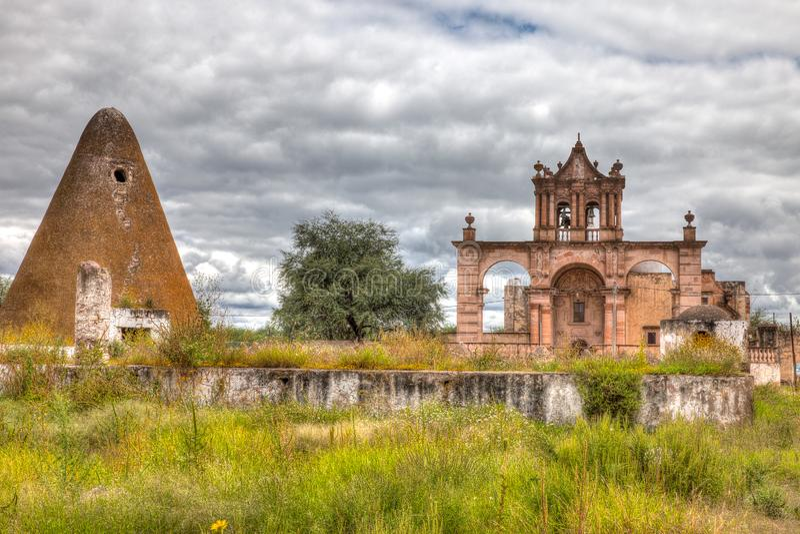 Hacjendy Jaral De Berrios w Guanajuato Meksyk zdjęcie royalty free