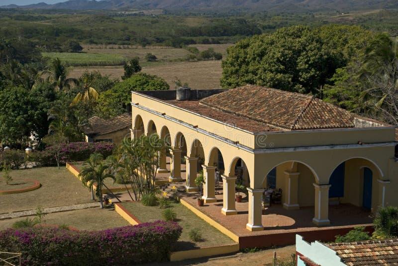 Hacjendy Manaca, Iznaga, Kuba fotografia royalty free
