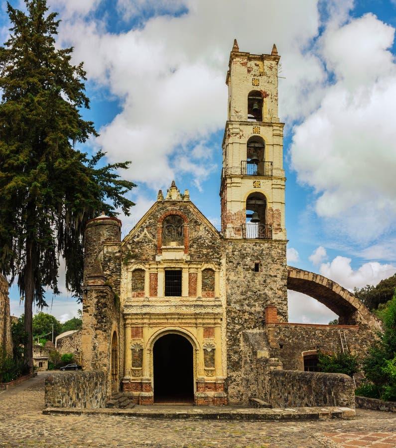 Hacjendy Santa Maria Regla, hidalgo Meksyk obraz stock