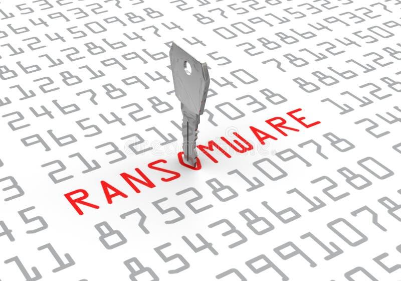 Hackat lösenord för datortangent stock illustrationer