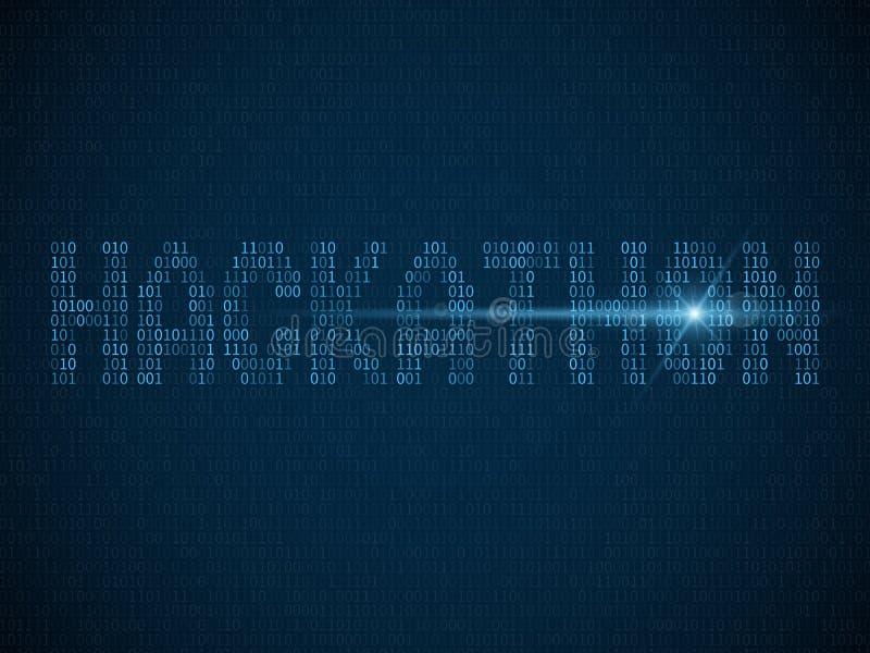 Hackathon Sieka dnia, hackfest lub codefest Komputerowych programistów maratonu wydarzenia hackathon wektorowego tło, royalty ilustracja
