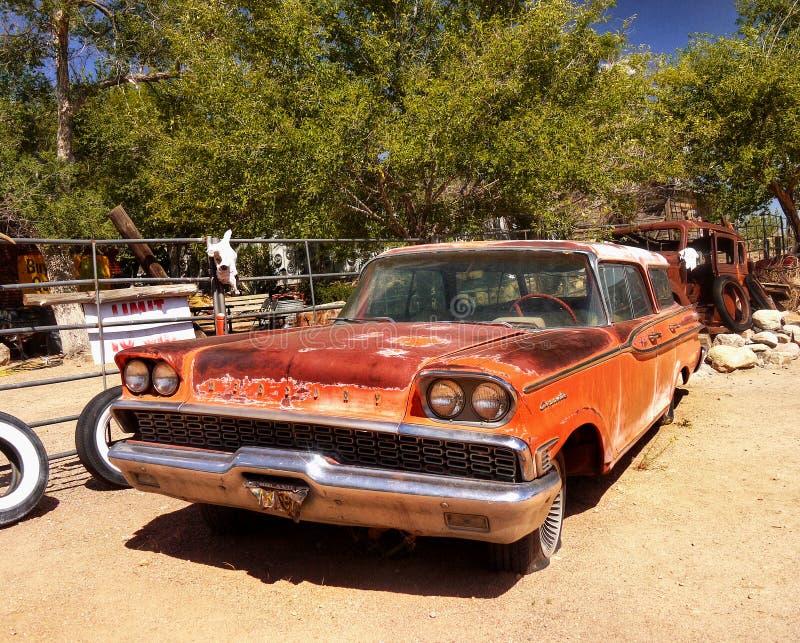 Hackberry, историческая трасса 66, Аризона стоковые изображения rf