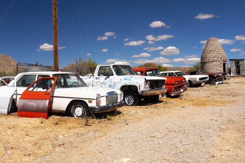 Hackberry, historisches Route 66, Arizona lizenzfreie stockbilder