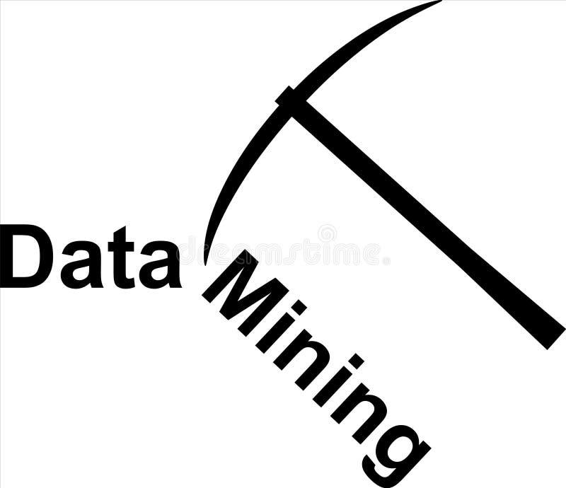Hacke mit Data - Mining stockfotos
