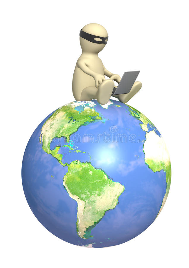 Download Hacker stock illustration. Image of media, internet, information - 12173655