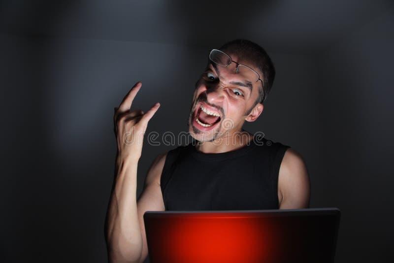 hacker zdjęcia stock