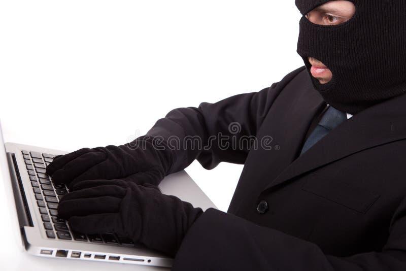 Hacker royalty free stock image