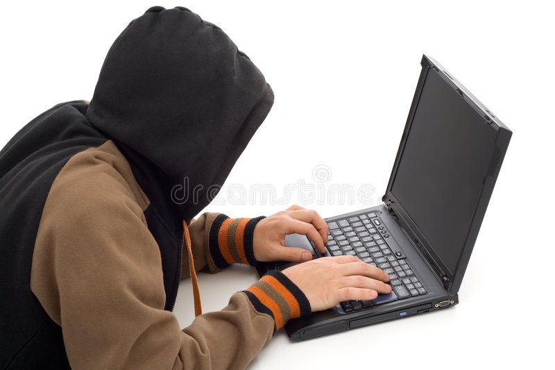 Download The hacker stock photo. Image of activity, computer, safeguard - 2984448