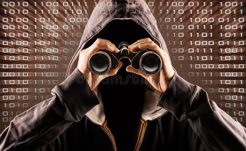 hacker foto de stock