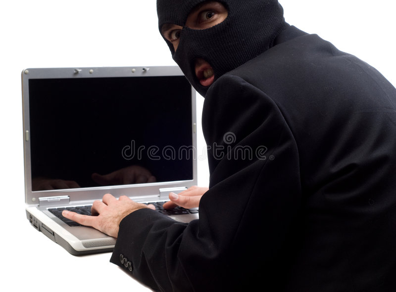 Hacker stock image