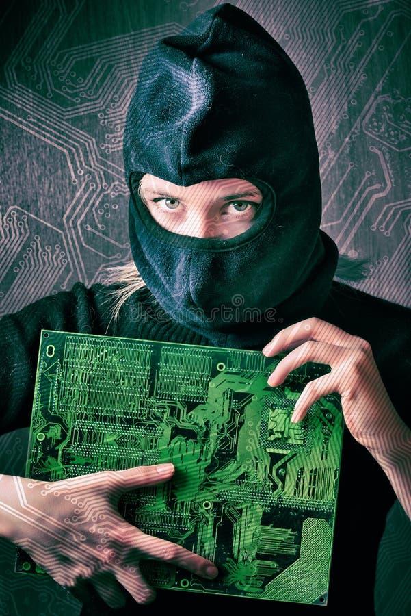 hacker imagen de archivo libre de regalías