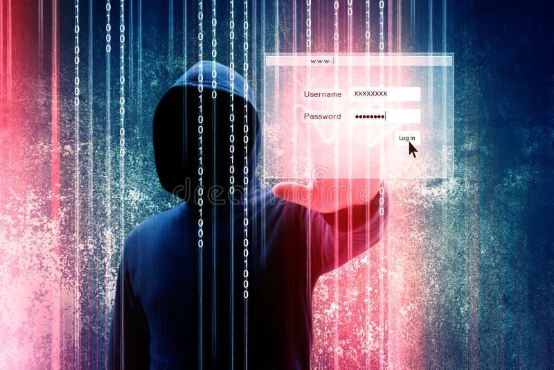 hacker foto de archivo libre de regalías