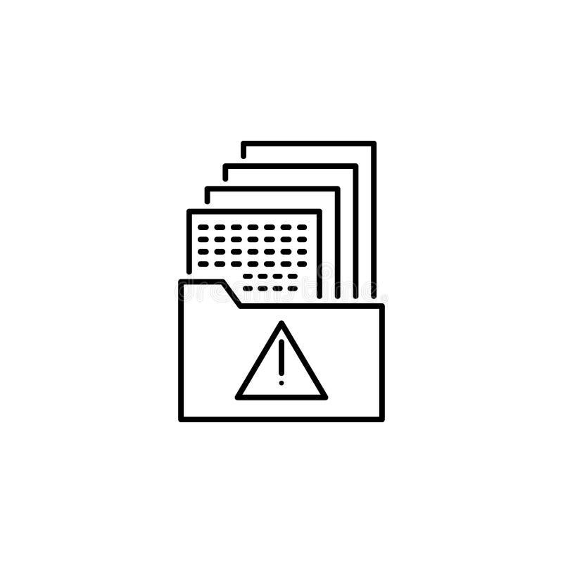 Hacker, dane ikona na białym tle Może używać dla sieci, logo, mobilny app, UI UX ilustracja wektor