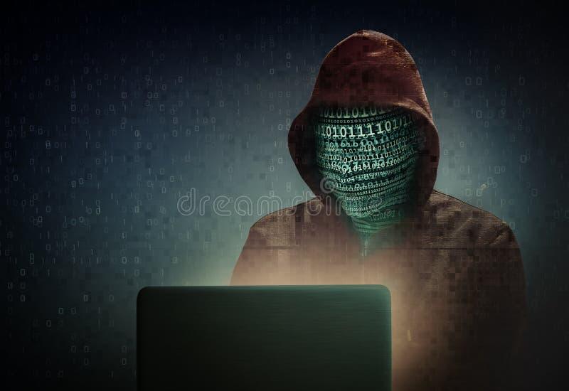 Hacker stock illustration