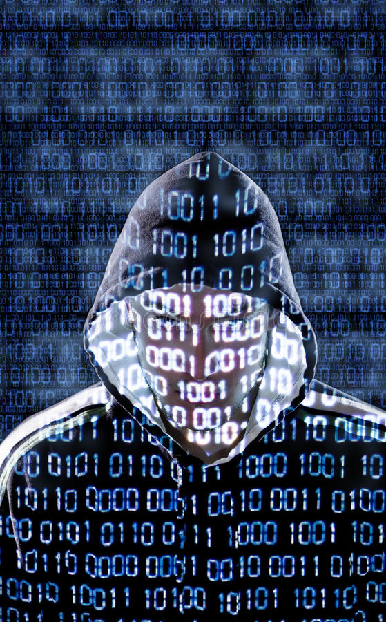 Download Hacker Looking Directly To The Camera Stock Images - Image: 30511114