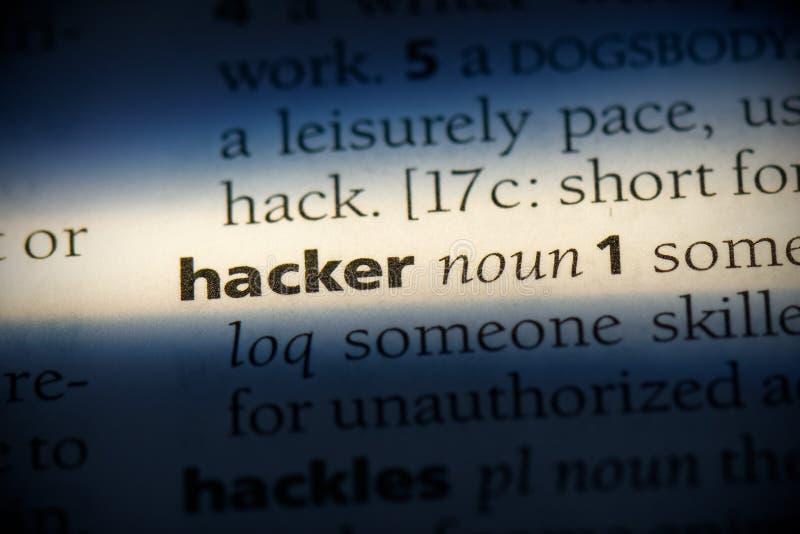 Hacker immagine stock