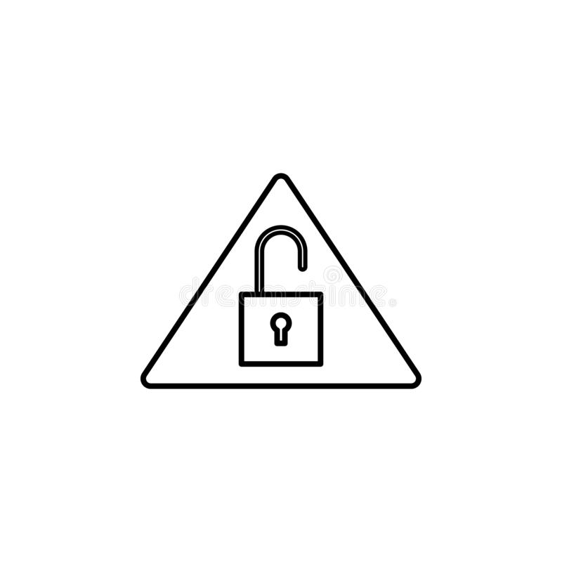Hacker, system siekał ikonę na białym tle Może używać dla sieci, logo, mobilny app, UI UX ilustracja wektor