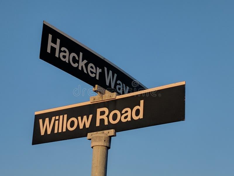 Hackers Sign stock photos