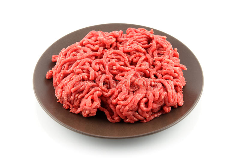 Hackfleisch stockfotografie