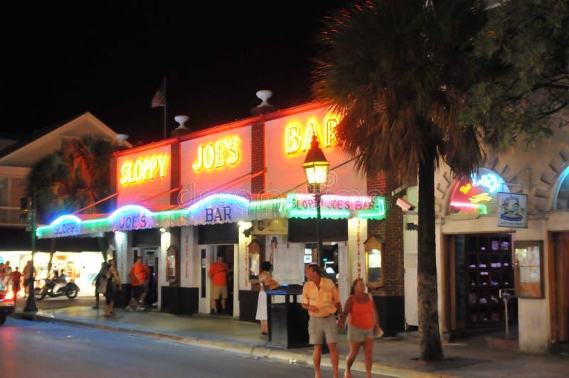 Hackfleisches mit Soße Stab in Key West Florida lizenzfreies stockfoto