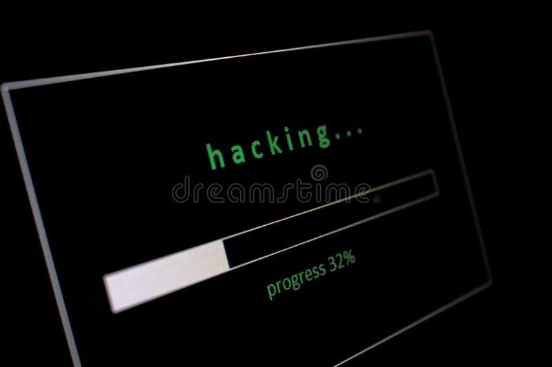 hacking foto de archivo