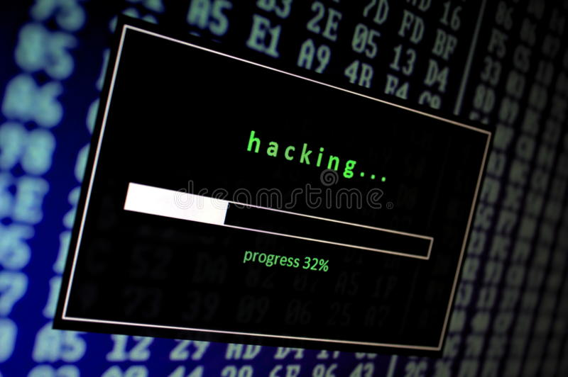 Hacking stock photos