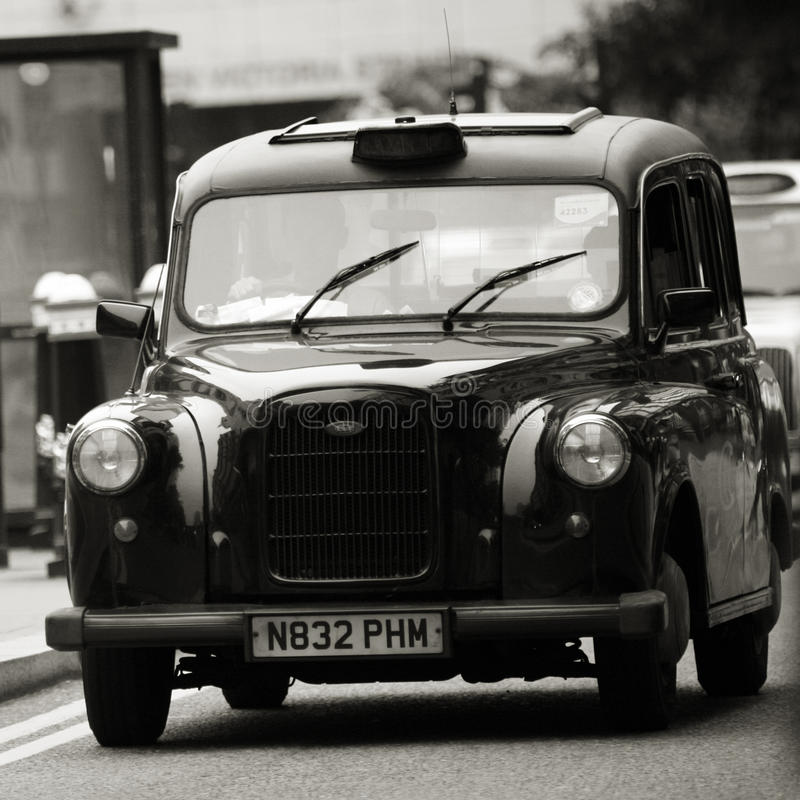 Hackney Carriage, London Taxi Editorial Stock Image