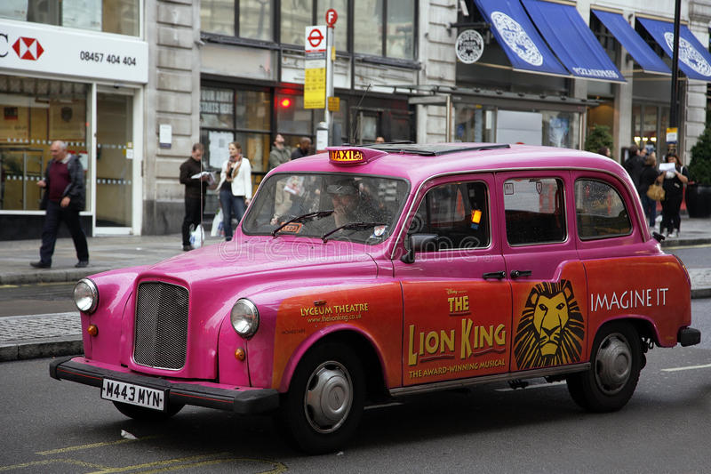 Download Hackney Carriage, London Taxi Editorial Stock Image - Image: 26944314