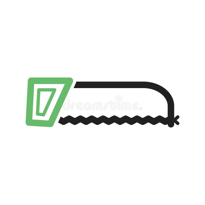 hacksaw illustrazione di stock