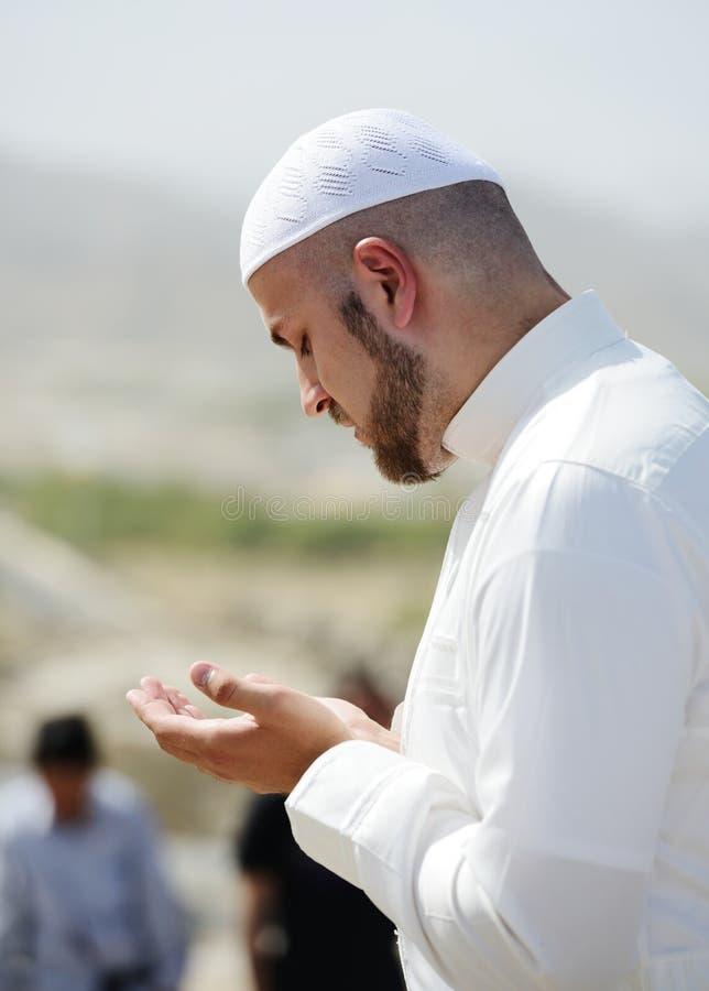 hadża kaaba makkah muslims obrazy stock
