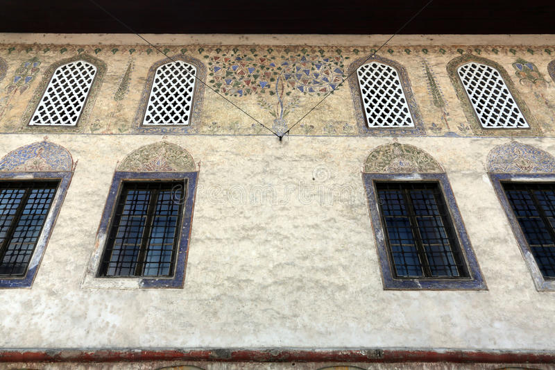 Hadżi Alibeg meczet w Travnik, Bośnia i Herzegovina, zdjęcie stock