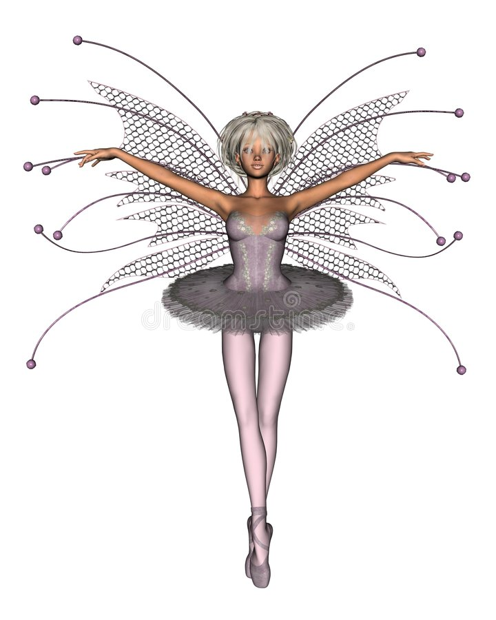 Hada rosada de la bailarina libre illustration