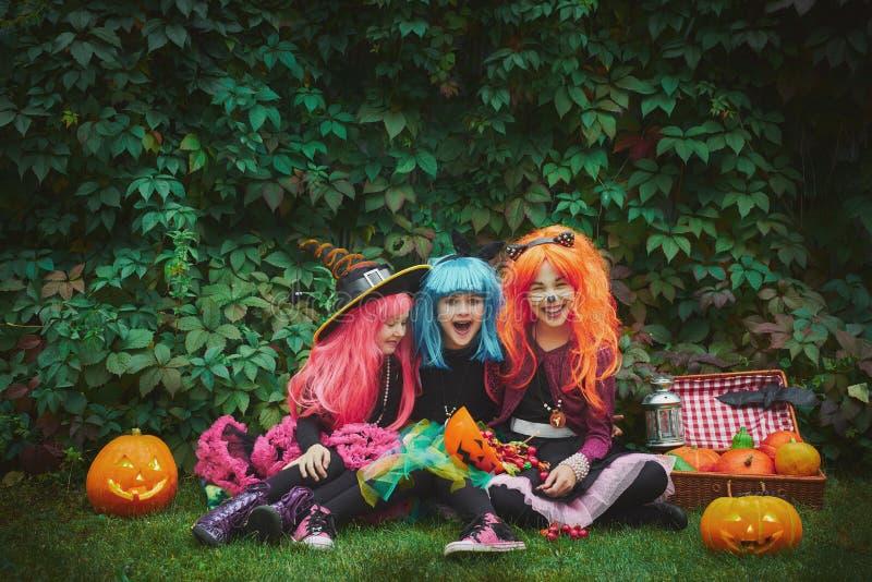 Hadas de Halloween imágenes de archivo libres de regalías