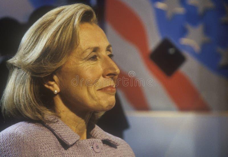 Hadassah Lieberman przy 2000 Demokratycznymi konwencjami przy Staples Center, Los Angeles, CA obraz royalty free