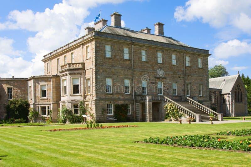 Haddo Haus in Schottland stockfotos