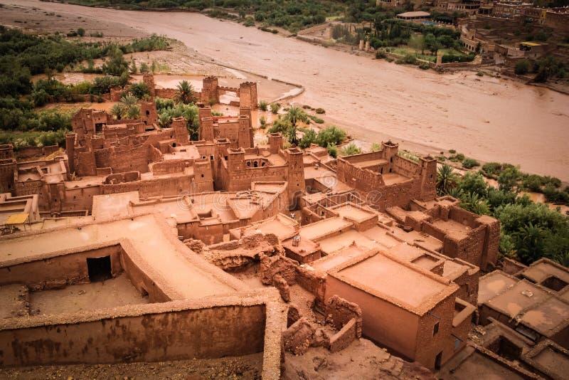 Haddou de Kasbah AIT ben marrocos fotos de stock royalty free