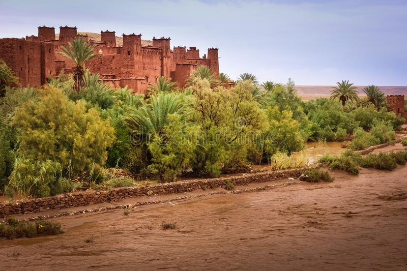 Haddou de Kasbah AIT ben marrocos fotos de stock
