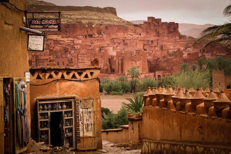 Haddou de Kasbah AIT ben marrocos foto de stock royalty free