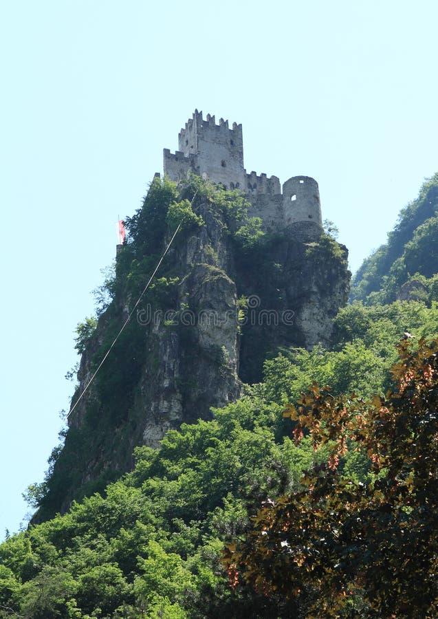 Haderburg城堡 图库摄影