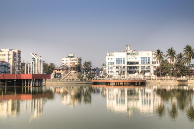 Hadis公园在库尔纳,孟加拉国 库存照片