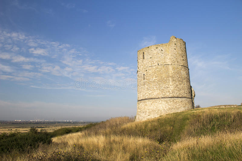 Hadleigh Castle, Essex, England, United Kingdom. Hadleigh Castle and surrounding countryside, Essex, England, United Kingdom stock photography