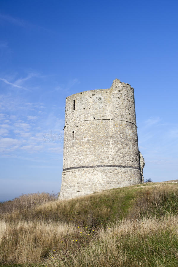 Hadleigh Castle, Essex, England, United Kingdom. Hadleigh Castle and surrounding countryside, Essex, England, United Kingdom stock photos