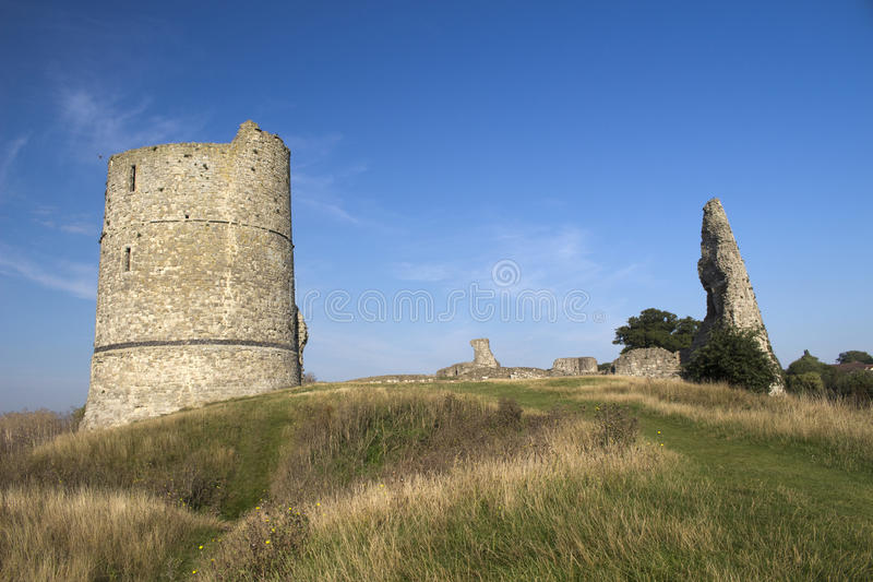Hadleigh Castle, Essex, England, United Kingdom. Hadleigh Castle and surrounding countryside, Essex, England, United Kingdom stock images