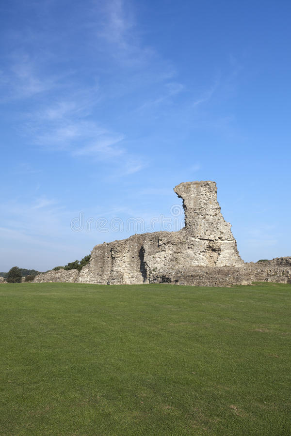 Hadleigh Castle, Essex, England, United Kingdom. Hadleigh Castle and surrounding countryside, Essex, England, United Kingdom royalty free stock images